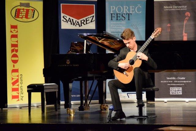 Filip Mišković - pobjednik VI. kategorija gitare