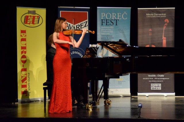 Marijana Raboteg - pobjednica VI. kategorije violine